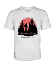 Adventure Awaits Appalachian Trail Shirt V-Neck T-Shirt thumbnail