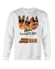 Happy Fathers Day To The Best German Dad Shirt Crewneck Sweatshirt thumbnail