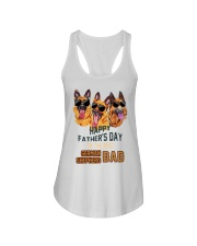 Happy Fathers Day To The Best German Dad Shirt Ladies Flowy Tank thumbnail