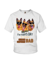 Happy Fathers Day To The Best German Dad Shirt Youth T-Shirt thumbnail