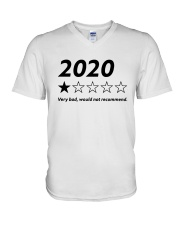 2020 Very Bad Would Not Recommend Shirt V-Neck T-Shirt thumbnail