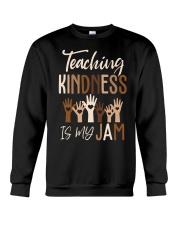 Teaching Kindness Is My Jam Shirt Crewneck Sweatshirt thumbnail