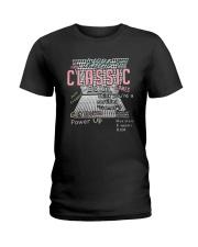 I Love Eating Classic Get Down Power Up Shirt Ladies T-Shirt thumbnail