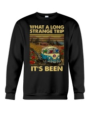 Vintage What A Long Strange Trip It's Been Shirt Crewneck Sweatshirt thumbnail