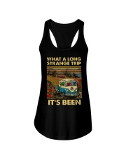 Vintage What A Long Strange Trip It's Been Shirt Ladies Flowy Tank thumbnail