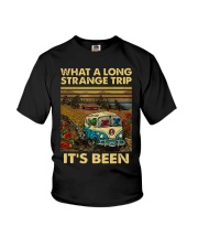 Vintage What A Long Strange Trip It's Been Shirt Youth T-Shirt thumbnail