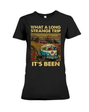 Vintage What A Long Strange Trip It's Been Shirt Premium Fit Ladies Tee thumbnail