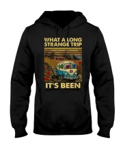 Vintage What A Long Strange Trip It's Been Shirt Hooded Sweatshirt thumbnail