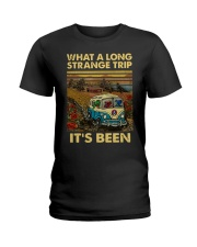 Vintage What A Long Strange Trip It's Been Shirt Ladies T-Shirt thumbnail