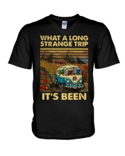 Vintage What A Long Strange Trip It's Been Shirt V-Neck T-Shirt thumbnail