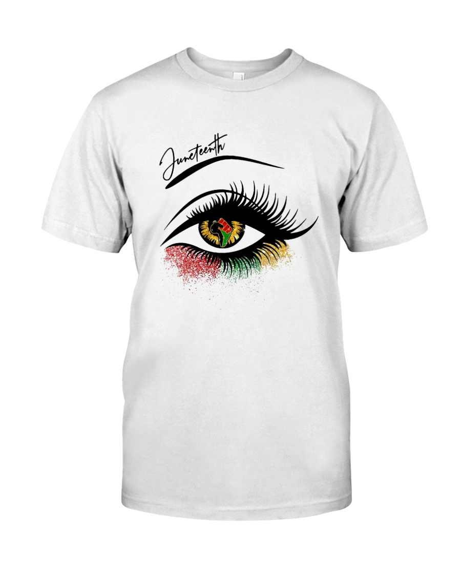 Eye Strong Hand Juneteenth Shirt