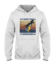 Vintage Parrot I Raise Tiny Dinosaurs Shirt Hooded Sweatshirt tile