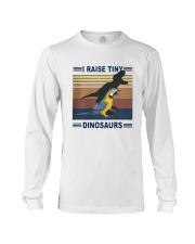 Vintage Parrot I Raise Tiny Dinosaurs Shirt Long Sleeve Tee thumbnail