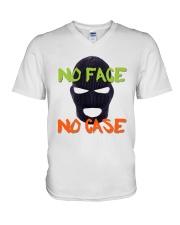 Dylan Bostic No Face No Case Shirt V-Neck T-Shirt thumbnail