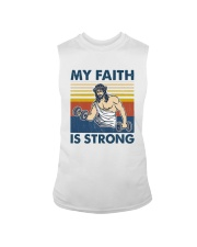 Vintage Jesus My Faith Is Strong Shirt Sleeveless Tee thumbnail