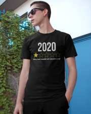 2020 Would Not Recommend Shirt Classic T-Shirt apparel-classic-tshirt-lifestyle-17
