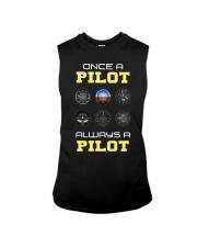 Once A Pilot Always A Pilot Shirt Sleeveless Tee thumbnail