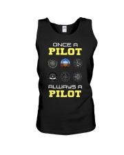 Once A Pilot Always A Pilot Shirt Unisex Tank thumbnail