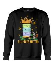 Bees All Hives Matter Shirt Crewneck Sweatshirt thumbnail