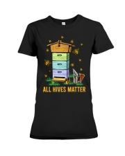 Bees All Hives Matter Shirt Premium Fit Ladies Tee thumbnail