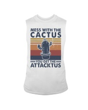 Vintage Mess With The Cactus Get Attacktus Shirt Sleeveless Tee thumbnail