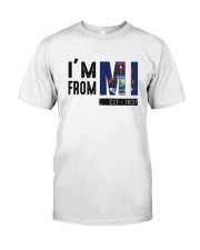Im From Michigan Est 1837 Shirt Premium Fit Mens Tee thumbnail