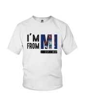 Im From Michigan Est 1837 Shirt Youth T-Shirt thumbnail