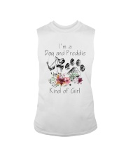 Im A Dog And Freddie Kind Of Girl Shirt Sleeveless Tee thumbnail