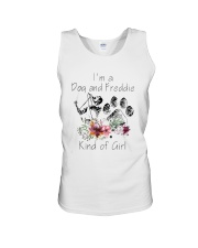 Im A Dog And Freddie Kind Of Girl Shirt Unisex Tank thumbnail