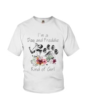 Im A Dog And Freddie Kind Of Girl Shirt Youth T-Shirt thumbnail