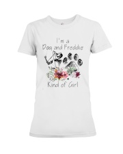 Im A Dog And Freddie Kind Of Girl Shirt Premium Fit Ladies Tee thumbnail