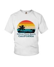Vintage Pelican Point Beach California Shirt Youth T-Shirt thumbnail