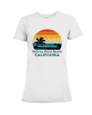 Vintage Pelican Point Beach California Shirt Premium Fit Ladies Tee thumbnail