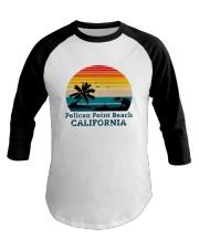 Vintage Pelican Point Beach California Shirt Baseball Tee thumbnail