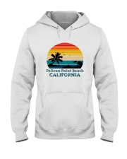 Vintage Pelican Point Beach California Shirt Hooded Sweatshirt thumbnail