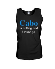Cabo Is Calling And I Must Go Shirt Unisex Tank thumbnail