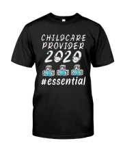 Child Care Provider 2020 Essential Shirt Classic T-Shirt thumbnail