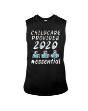 Child Care Provider 2020 Essential Shirt Sleeveless Tee thumbnail