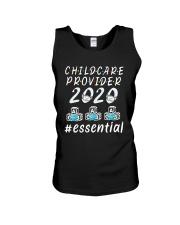 Child Care Provider 2020 Essential Shirt Unisex Tank thumbnail