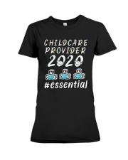 Child Care Provider 2020 Essential Shirt Premium Fit Ladies Tee thumbnail