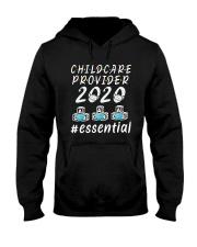 Child Care Provider 2020 Essential Shirt Hooded Sweatshirt thumbnail