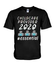 Child Care Provider 2020 Essential Shirt V-Neck T-Shirt thumbnail