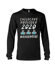 Child Care Provider 2020 Essential Shirt Long Sleeve Tee thumbnail