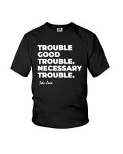 Good Trouble John Lewis T Shirt Youth T-Shirt thumbnail