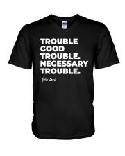 Good Trouble John Lewis T Shirt V-Neck T-Shirt thumbnail