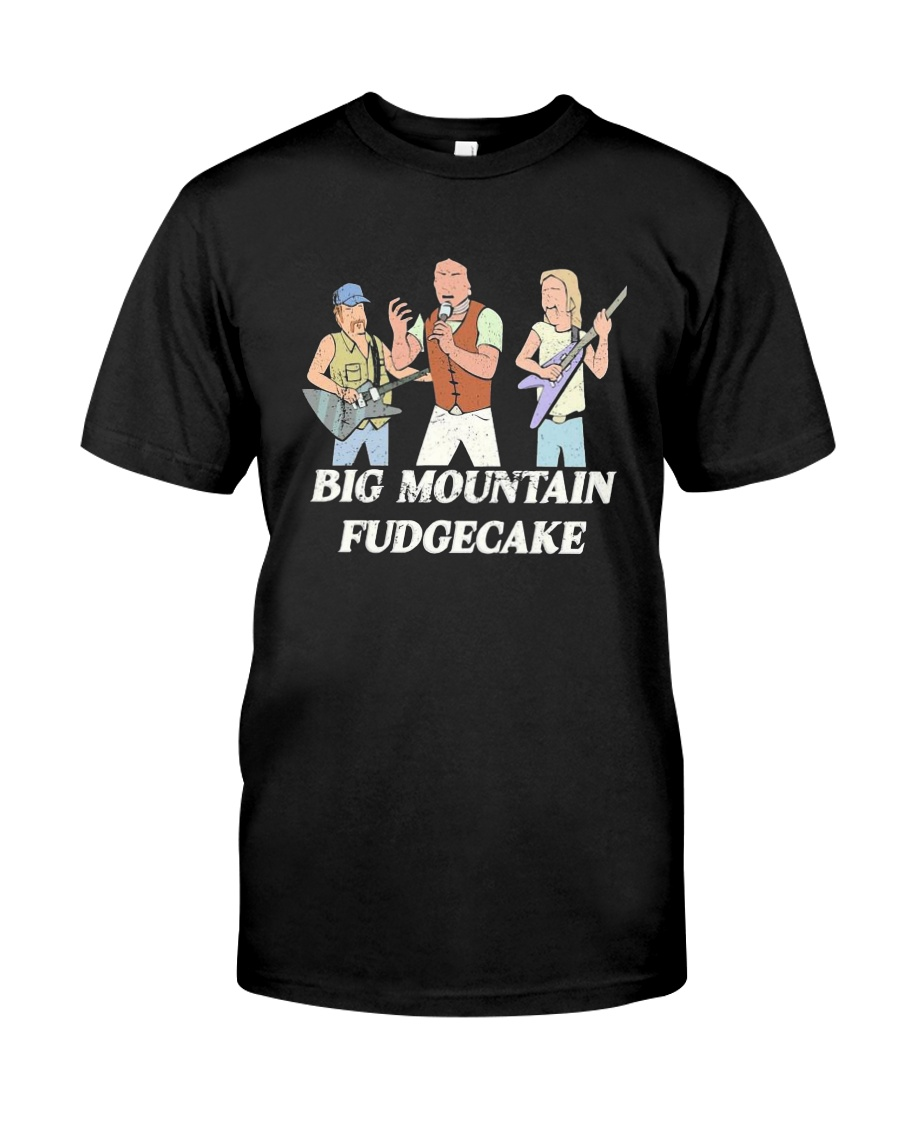 Big Mountain Fudgecake Shirt Premium Fit Mens Tee