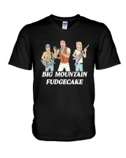 Big Mountain Fudgecake Shirt V-Neck T-Shirt thumbnail