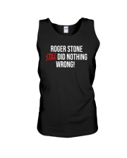 John Cardillo Roger Stone Still Did Nothing Shirt Unisex Tank thumbnail