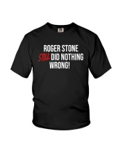 John Cardillo Roger Stone Still Did Nothing Shirt Youth T-Shirt thumbnail