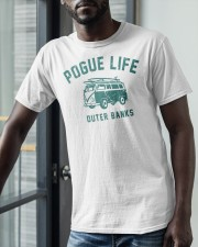 Pogue Life Outer Banks Shirt Classic T-Shirt apparel-classic-tshirt-lifestyle-front-39